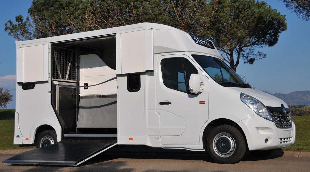 Carrosserie Ameline es su proveedor de camión para caballos