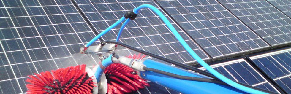 Clean Progress est une entreprise de nettoyage panneau photovoltaïque