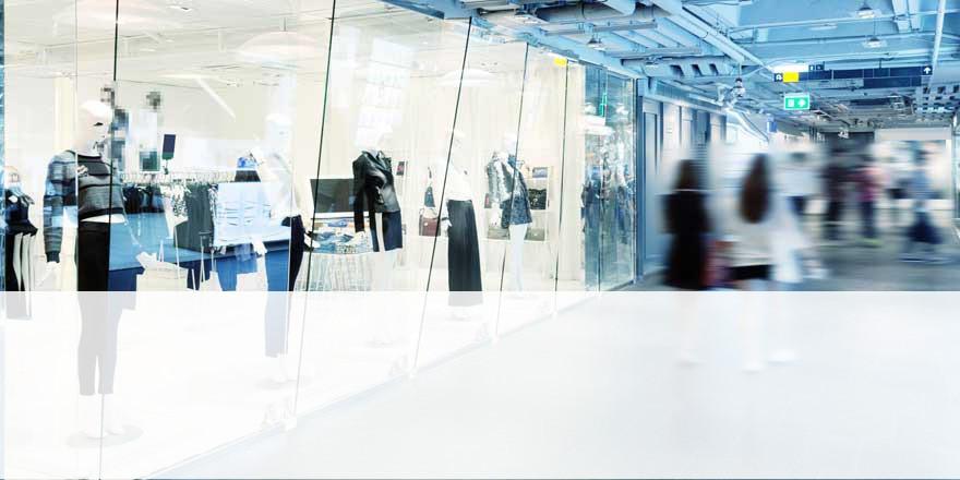 La vente de murs commerciaux fait partie des services dont s'occupe l'équipe Perfia