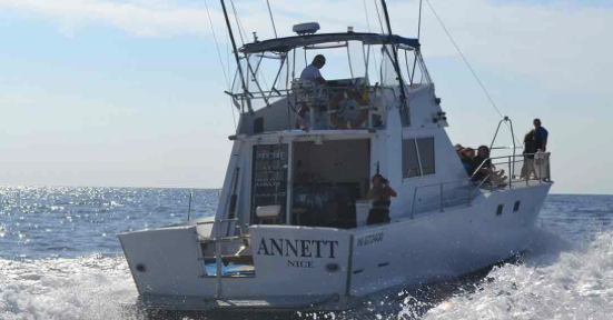 pêche en bateau
