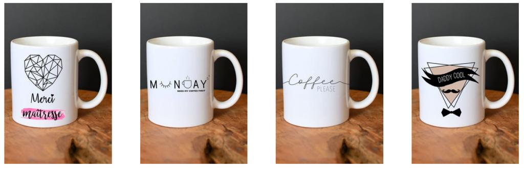 Du côté du mug personnalisé - My Pretty Little Store