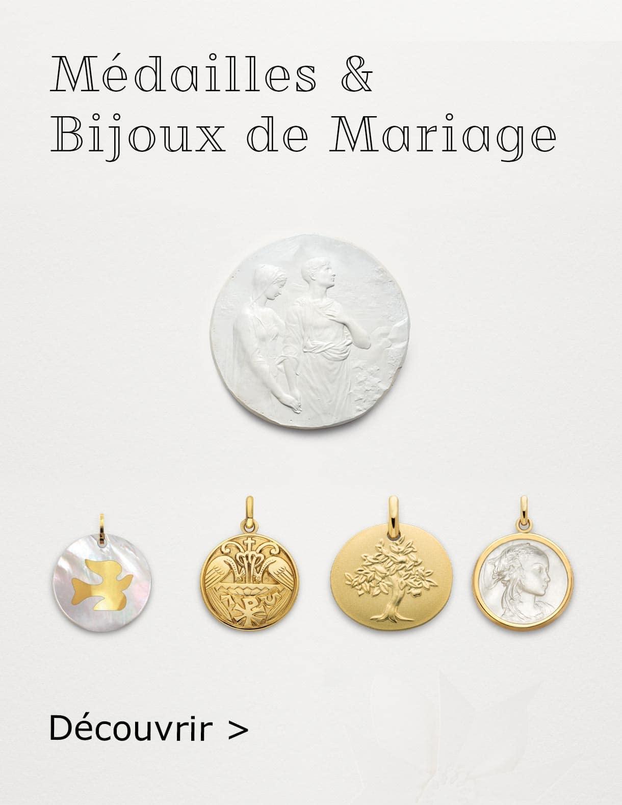Médailles de baptême - ARTHUS BERTRAND